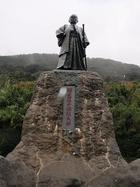 室戸岬(中岡慎太郎像)