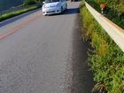 車が怖い道