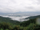 焼山中腹からの眺め