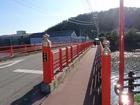 立江寺前の白鷺橋