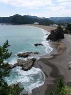 日和佐の海岸線