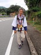韮崎の野宿さん