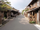 宇和町の古い町並み