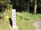 鴇田(ひわた)峠遍路道
