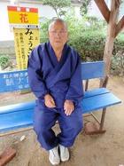 9番法輪寺に毎日いるじいさん
