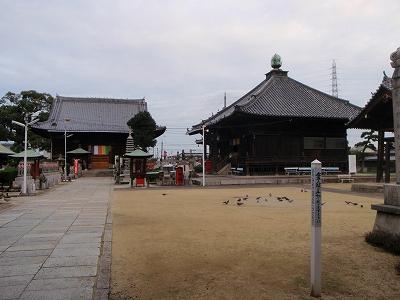 道隆寺本堂と大師堂