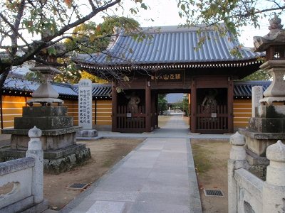 金倉寺山門