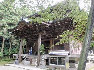 三角寺本堂