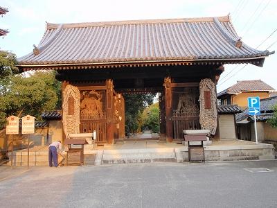 志度寺山門