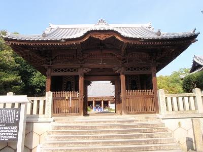 屋島寺山門
