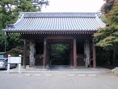 根香寺山門