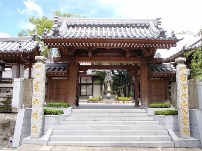 大日寺の門