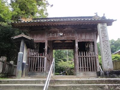 藤井寺山門