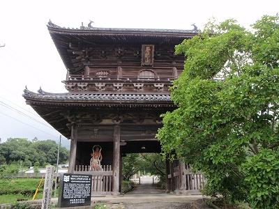 熊谷寺山門